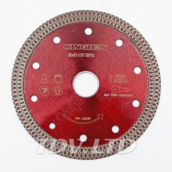 Диск алмазный отрезной KingLion 125 мм ромбовидный