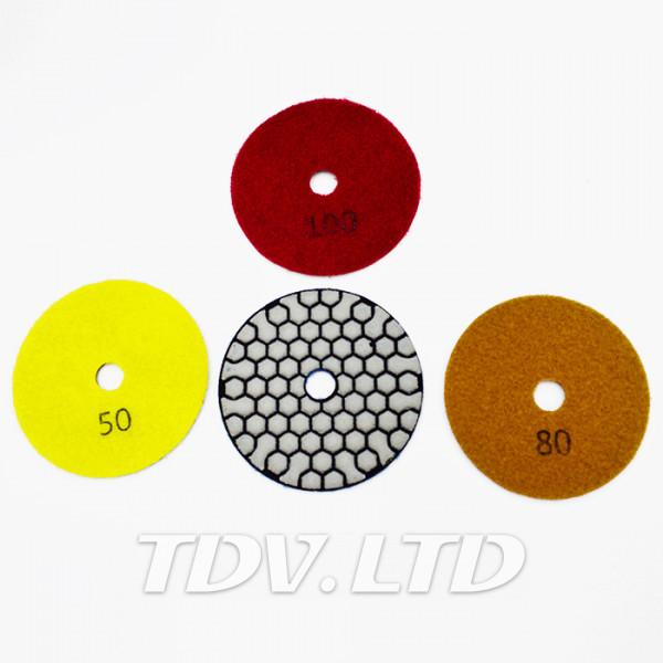 Черепашка для плитки Ø125мм P200 (сухая полировка)