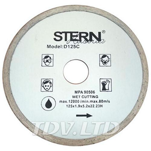 Диск алмазный отрезной Stern 125мм C