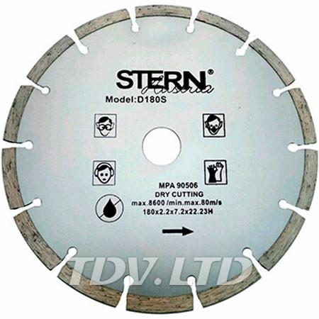 Диск алмазный отрезной Stern 180мм S