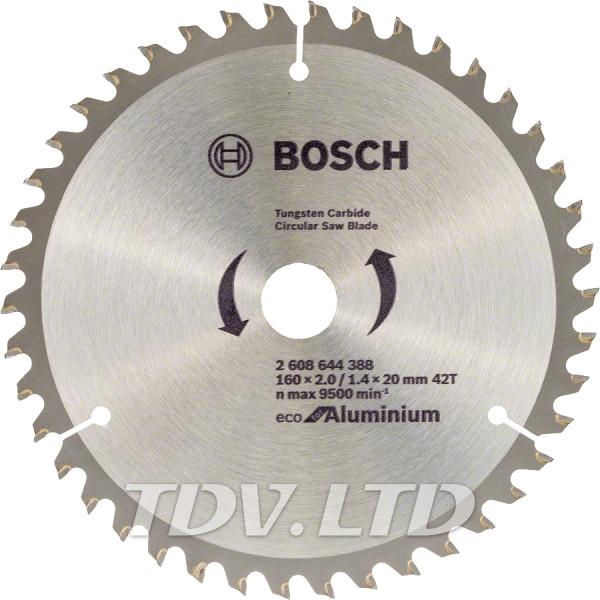 Диск пильный Bosch 160x42x20 по алюминию