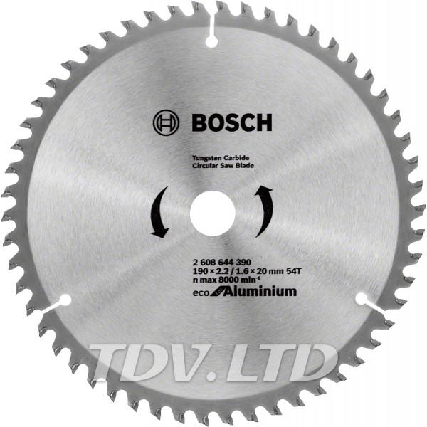 Диск пильный Bosch 190x54x20 по алюминию
