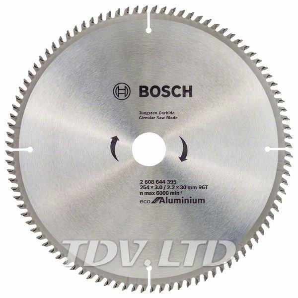 Диск пильный Bosch 254x96x30 по алюминию