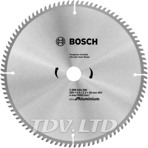 Диск пильный Bosch 305x96x30 по алюминию