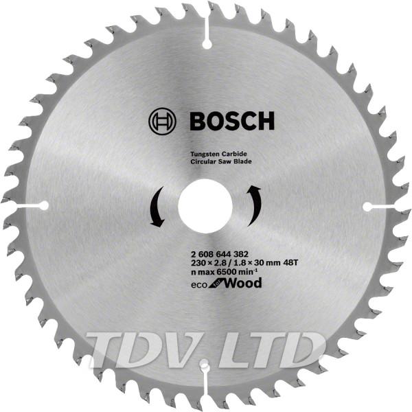 Диск пильный Bosch 230x48x30 по дереву