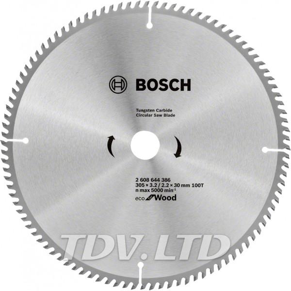Диск пильный Bosch 305x100x30 по дереву