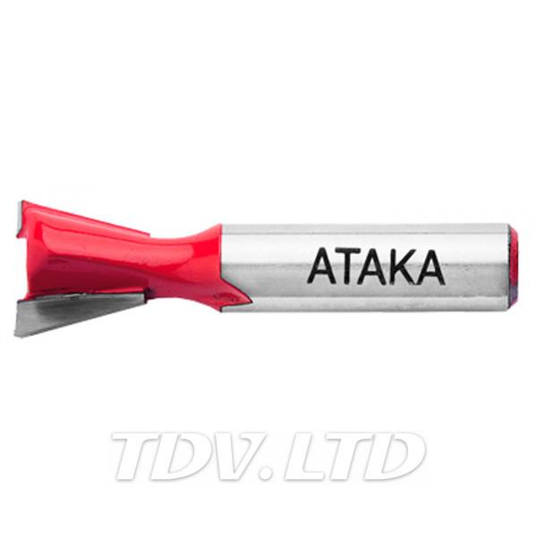 Фреза пазовая конструкционная Атака Ø8x12.7мм (101127)