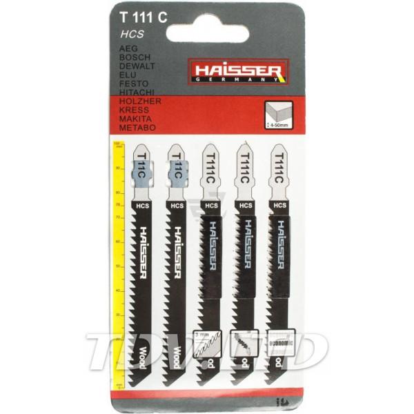 Пилочки для электролобзика Haisser T111С 75мм (5шт.)
